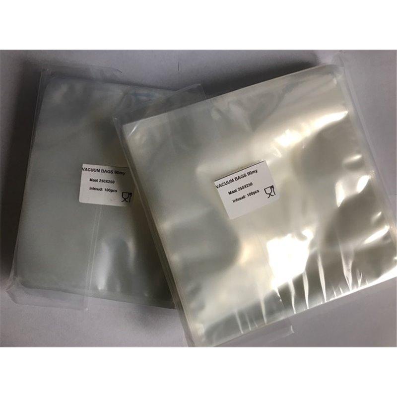 Vacuum side seal bags 130x250mm 90my (Small package) - Horecavoordeel.com