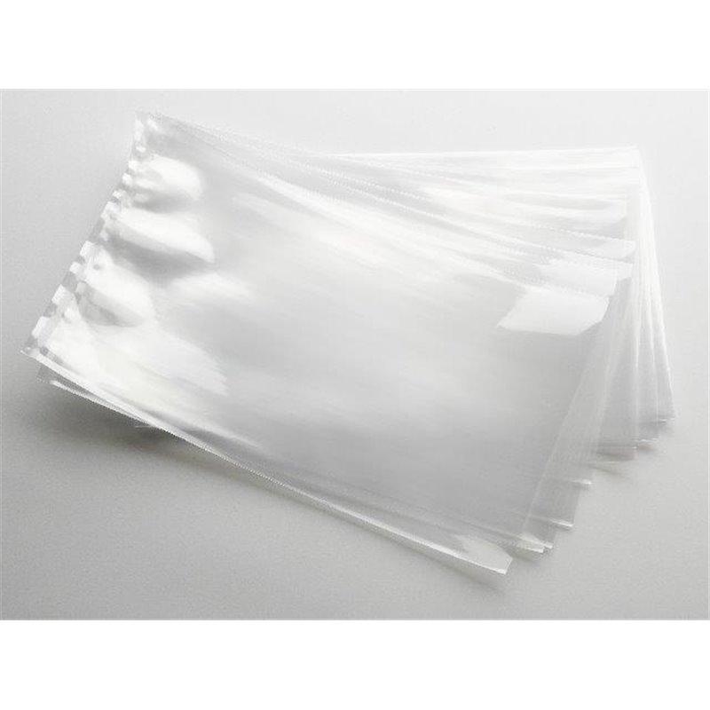 Vacuum side seal bags 200x300mm With Black Bottom 90my - Horecavoordeel.com