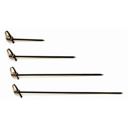 Twisted Prickers bamboo Black 100mm