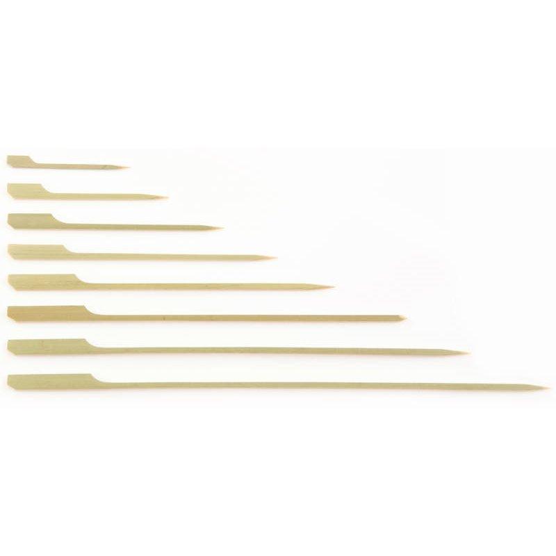 Bamboe Vlagprikkers Pin Roeispaantje 150mm Horecavoordeel.com