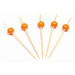 Bamboo Prickers with Orange bulb 120mm