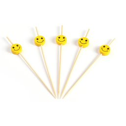 Bamboo Prickers with Smiley 120mm