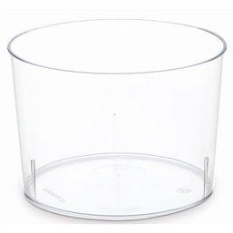 Bodeglazen - Bakje Kristal 170ml 70 x 54mm