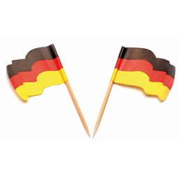 Flag Prickers Germany Waving
