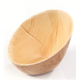 Palm Bowl Oval Oblique 100x72xH60/24mm