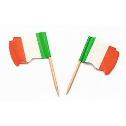 """Vlag Prikkers """"Italië"""" Wapperend"""