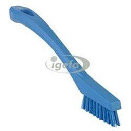 Extra Harde Precisieborstel - Voegenborstel Met Polyester Vezels 205x20x40mm Blauw