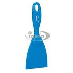 Rechte Smalle Handschraper Polypropyleen 75x18x210mm Blauw