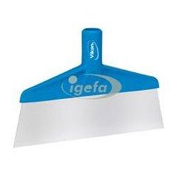 Floor scraper Polypropylene, Stainless Steel Sheet 260x30x175mm Visual Sheet Length Is 70mm Blue
