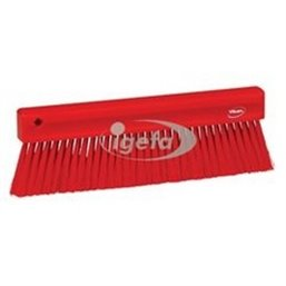 Powder sweeper - Baker brush Polyester Fiber, Switht 300x31x100mm Red