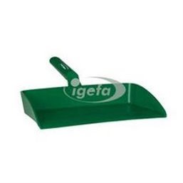 Ergonomic Dustpan Polypropylene 330x295x100mm Green