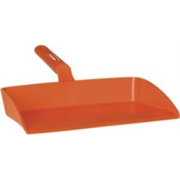 Ergonomic Dustpan Polypropylene 330x295x100mm Orange
