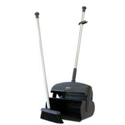 Combination set Sweeper - Tractor - Dustpan With Tall Helve Grey