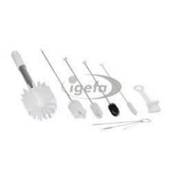 Brush Kit Sundae - Ice Machine Set with 9 Special Brushes White