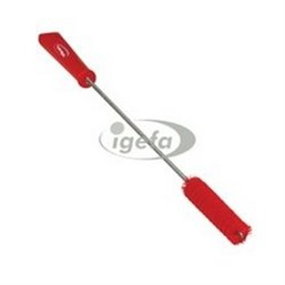 Pipe Brush With Handle and Polyester Fibers ø20x500mm, Medium Red