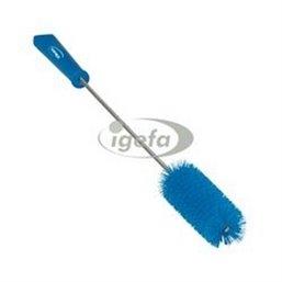 Harde Pijpborstel Met Handvat En Polyester Vezels ø40x510mm Blauw