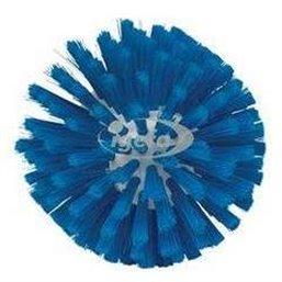 Medium Wormhuisborstelkop Met Polyester Vezels ø135x130mm Blauw