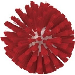 Worm house brush head Polyester Fiber, Medium ø135x130mm Red