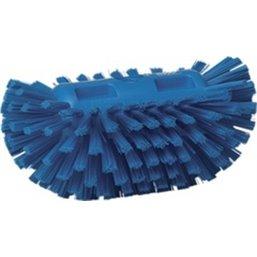 Harde Tankborstel Polyester Vezels 205x130x100mm Blauw