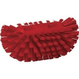 Tough Tank brush Polyester Fiber, Hard 205x130x100mm Red