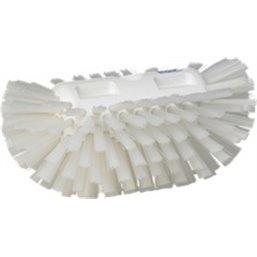 Harde Tankborstel Polyester Vezels 205x130x100mm Wit