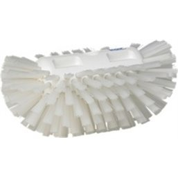 Tough Tank brush Polyester Fiber, Hard 205x130x100mm White