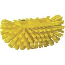 Tough Tank brush Polyester Fiber, Hard 205x130x100mm Yellow