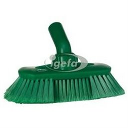 Angle adjustable Brush With Water supply Polyester Fiber, Switht, Cloven 240x130x145mm Green