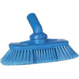 Angle adjustable Brush With Water supply Polyester Fiber, Switht, Cloven 240x130x145mm Blue