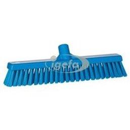 Combi Veger Met Harde En Zachte Polyester Vezels 410x90x120mm Blauw