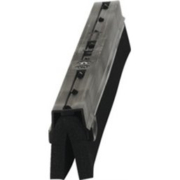 Cassette Voor Klassieke Vloertrekker Van Polypropyleen Met Schuimrubber 70cm Breed Zwart