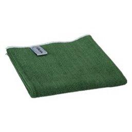 Micrwithibre cloth Basic 32 80% Polyester, 20% Polyamide 320x320mm Green