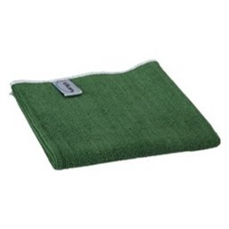 Micrwithibre cloth Basic 40 80% Polyester, 20% Polyamide 400x400mm Green