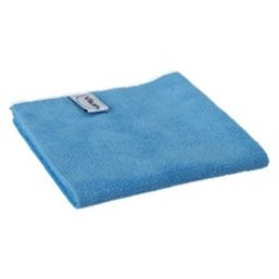 Micrwithibre cloth Basic 40 80% Polyester, 20% Polyamide 400x400mm Blue