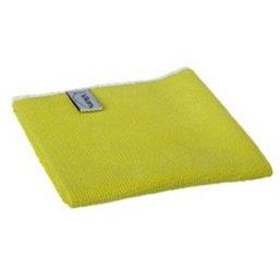 Micrwithibre cloth Basic 40 80% Polyester, 20% Polyamide 400x400mm Yellow