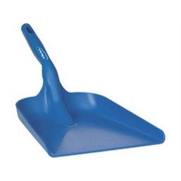 Flat Hand shovel, Small Model Polypropylene 550x275x110mm Blue