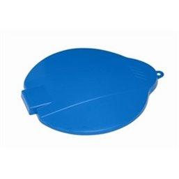 Bucket Lid for 12 Liter Bucket Polypropylene 365x310x40mm Blue