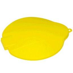 Emmerdeksel Voor 12 Liter Emmer Polypropyleen 365x310x40mm Geel