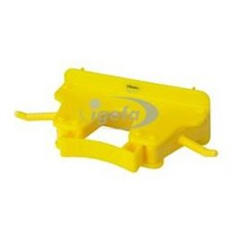Full Colour Suspension system 1-3 Products 2 Hooks, 1 Flexible Rubber Clamp 160x80x60mm Yellow