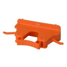 Full Colour Suspension system 1-3 Products 2 Hooks, 1 Flexible Rubber Clamp 160x80x60mm Orange
