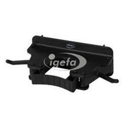 Full Colour Ophangsysteem Voor 1-3 Producten Met 2 Haken En 1 Flexibele Rubber Klem 160x80x60mm Zwart