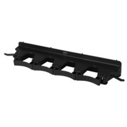Full Colour Suspension system 4-6 Products 2 Hooks, 4 Flexible Rubber Clamps 395x80x60mm Black