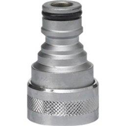 Vikan-gardena Adapter for All Q-handles Brass Chromed