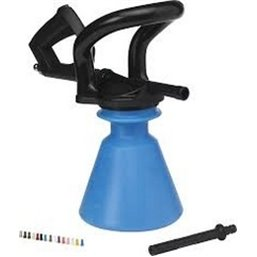 Ergo Foam Sprayer 2,5 Liter Water pressure 2-10 Bar, Max. 60ºc Blue