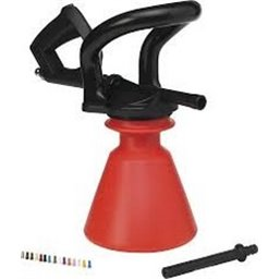 Ergo Foam Sprayer 2,5 Liter Water pressure 2-10 Bar, Max. 60ºc Red