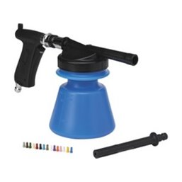 Klassieke Foam Sprayer 1,4 Liter Waterdruk 2-10 Bar, Max. 40ºc Blauw