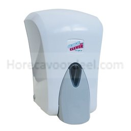 Soap Dispenser Eco402 White 1l Refillable With View window