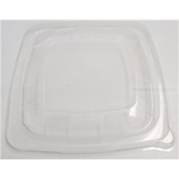 Lids square for BePulp Containers - Bins R-pet 18x18cm