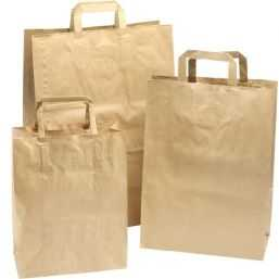 Paper carrying Bags Brown 320x180x260mm