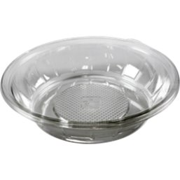 Saladbowl 1000cc Pet round Transparent